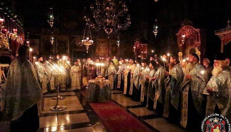Η εορτή του Αγίου Σάββα του Ηγιασμένου στην Αγία Γη (ΦΩΤΟ – ΒΙΝΤΕΟ)