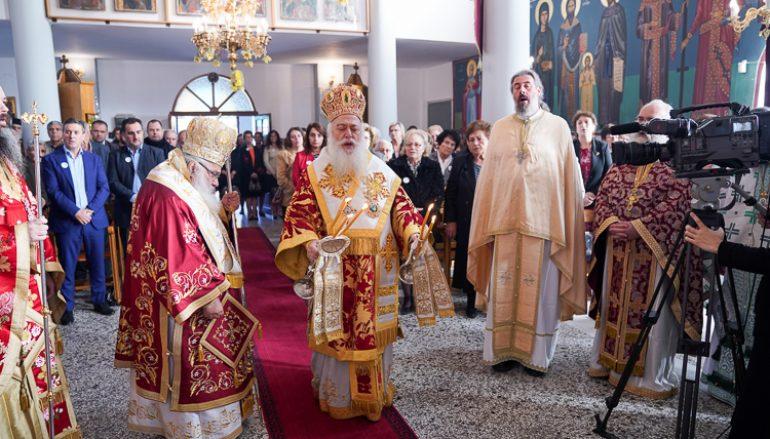 Η πανήγυρις της Αγίας Νεομάρτυρος Χρυσής στην Αλμωπία (ΦΩΤΟ)