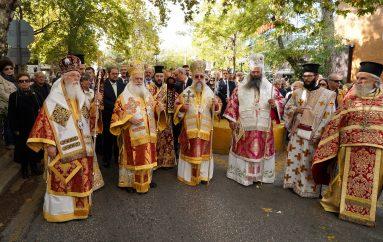 Πολυαρχιερατικό Συλλείτουργο για τον Πολιούχο της Κηφισιάς Άγιο Δημήτριο