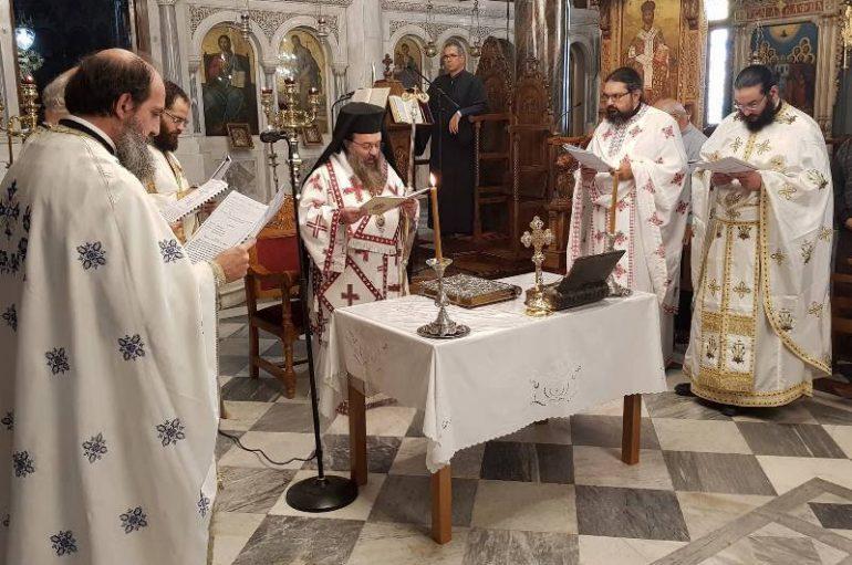 Επέτειος εγκαινίων του Ι. Ναού Αγίου Μάρκου Βροντάδου (ΦΩΤΟ)