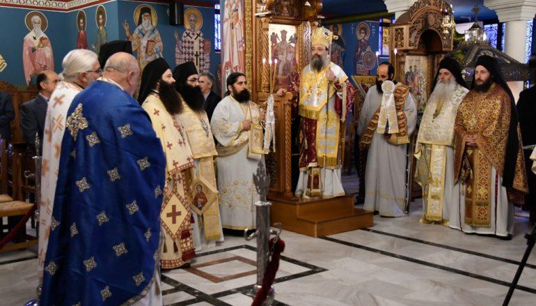 Η εορτή του Αγίου Χριστοδούλου στην Ι. Μ. Πατρών (ΦΩΤΟ)