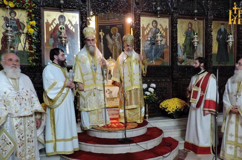 Πανηγύρισε ο Μητροπολιτικός Ι. Ναός Αγίου Δημητρίου Άρτης (ΦΩΤΟ)