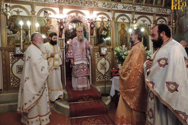 Αρχιερατική Θεία Λειτουργία στην ορεινή ενορία Ελάτης Άρτης (ΦΩΤΟ)