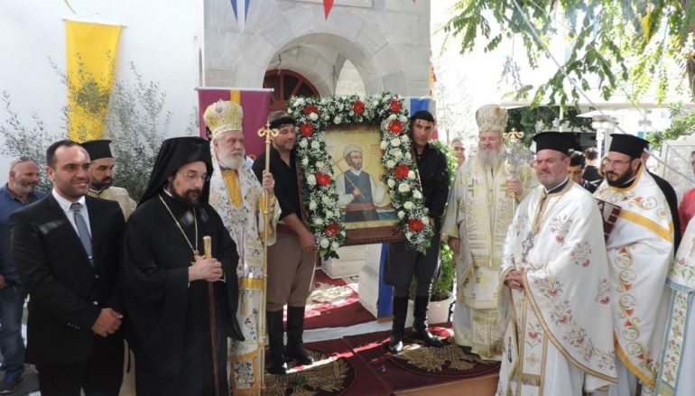 Λαμπρός εορτασμός του Αγ. Μανουήλ του Κρητός στην Μύκονο (ΦΩΤΟ)