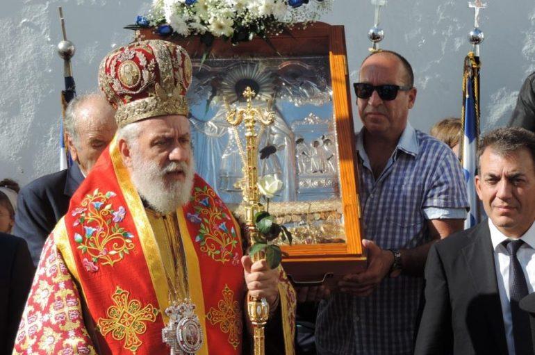 Η εορτή του Αγίου Αρτεμίου στο νησί της Μυκόνου (ΦΩΤΟ)