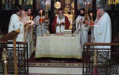 Η Θεία Λειτουργία του Αγίου Ιακώβου του Αδελφοθέου στην Άρτα (ΦΩΤΟ)