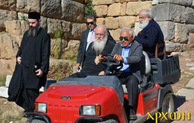 Ο Αρχιεπίσκοπος στην Αρχαία Μεσσήνη και το Δήμο Καλαμάτας (ΦΩΤΟ)