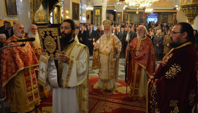 Με λαμπρότητα πανηγύρισε ο Ι. Ναός Αγίου Δημητρίου Τρίπολης (ΦΩΤΟ)