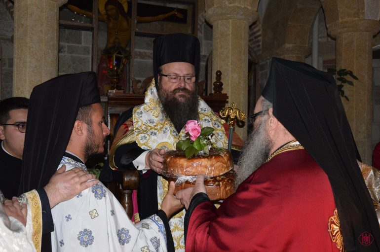 Αρχιερατικός Εσπερινός πανηγύρεως της Ι. Μονής Αγίου Ιεροθέου Μεγάρων (ΦΩΤΟ)