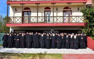 Ιερατική Σύναξη Οκτωβρίου στην Ι. Μητρόπολη Λαγκαδά (ΦΩΤΟ)