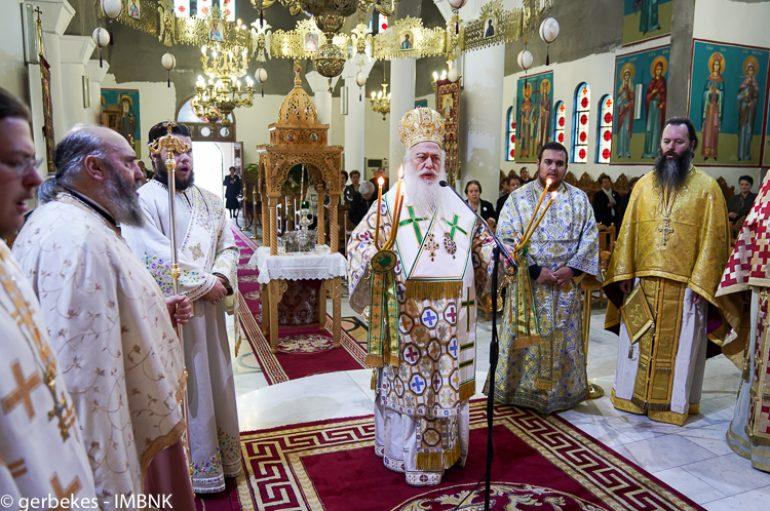 Η εορτή του Αγίου Φιλοθέου Κοκκίνου στην Πατρίδα Βεροίας (ΦΩΤΟ)