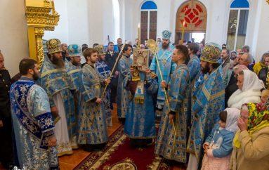 Η Εορτή της Αγίας Σκέπης προστάτιδας των Κοζάκων στην Οδησσό (ΦΩΤΟ)