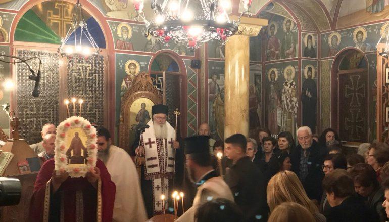 Η εορτή της Αγίας Ταβιθά στην Ι. Μητρόπολη Θηβών (ΦΩΤΟ)