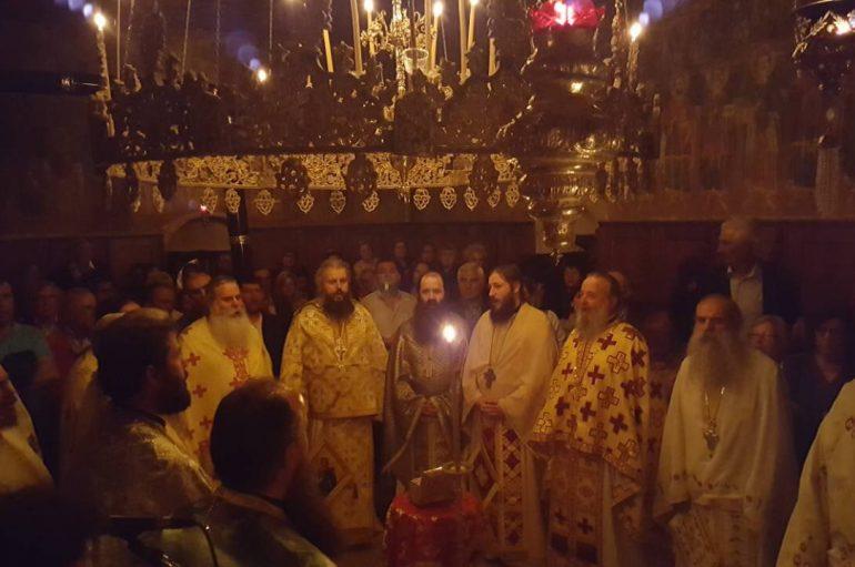 Η εορτή του Αγίου Αρτεμίου στην Ι. Μονή Αγίων Πάντων Πατρών (ΦΩΤΟ)