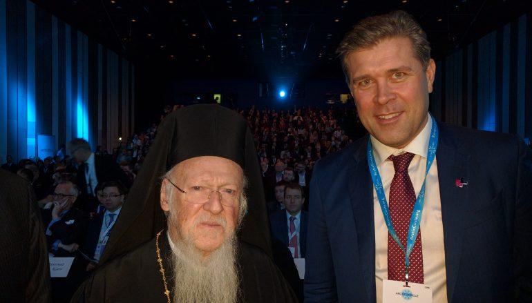 Συνάντηση του Οικ. Πατριάρχη με τον Πρωθυπουργό της Ισλανδίας (ΦΩΤΟ)
