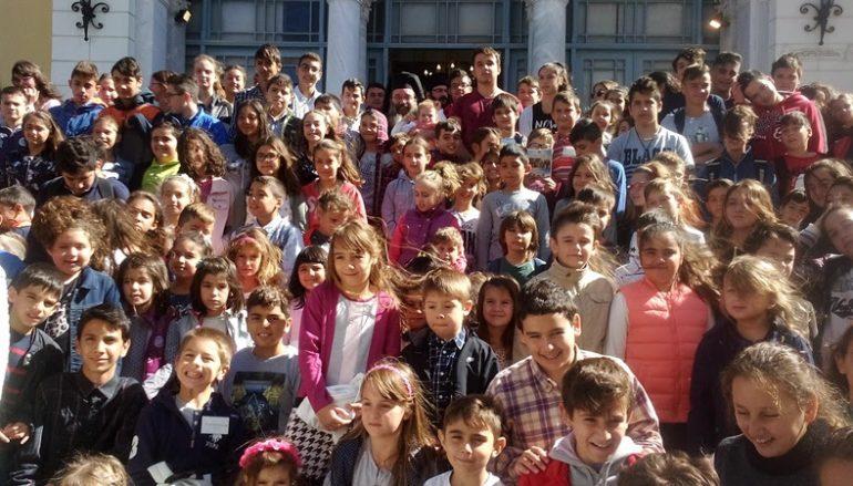 Αγιασμός για την έναρξη των κατηχητικών σχολείων της Ι. Μ. Χίου (ΦΩΤΟ)