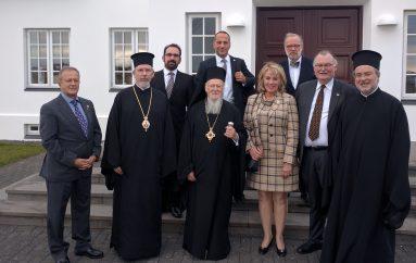 Η 4η ημέρα του Οικουμενικού Πατριάρχη στην Ισλανδία (ΦΩΤΟ)