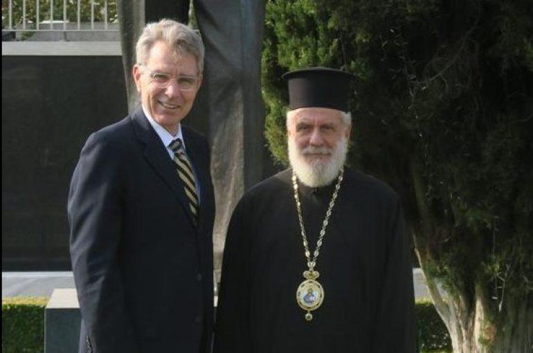 Ο Μητροπολίτης Σύρου επισκέφθηκε τον Πρέσβη των Η.Π.Α στην Ελλάδα