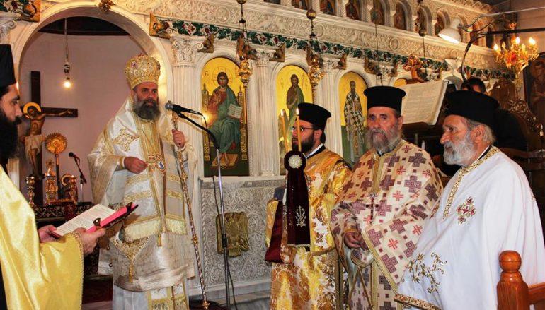 Αρχιερατική Θ. Λειτουργία στον Ι. Ναό Αγίου Γεωργίου Πύργου Κιερίου (ΦΩΤΟ)