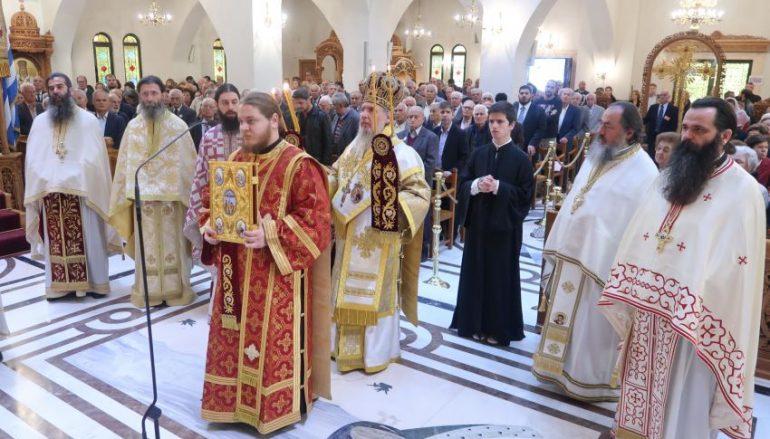 Πανηγύρισε ο Ι. Ναός Αγίου Δημητρίου Μπραχαμίου (ΦΩΤΟ)