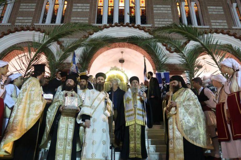 Μεθέορτος Εσπερινός και Λιτανεία του Αγίου Δημητρίου στο Μπραχάμι (ΦΩΤΟ)
