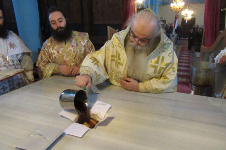 Εγκαίνια Ιερού Ναού στα ελληνοαλβανικά σύνορα (ΦΩΤΟ)