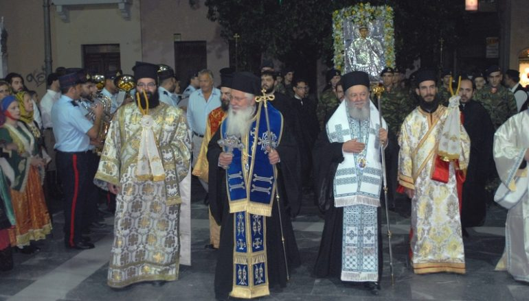 Η Χαλκίδα υποδέχθηκε την Μεγάλη Παναγιά από τη Θήβα (ΦΩΤΟ)