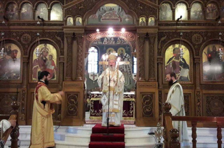 Η εορτή του Αγ. Ευαγγελιστού Λουκά στην Ι. Μ. Χαλκίδος (ΦΩΤΟ)