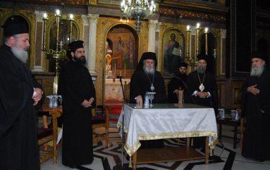 Γενική Ιερατική Σύναξη στην Ι. Μ. Θεσσαλιώτιδος (ΦΩΤΟ)