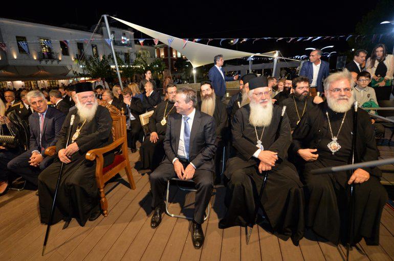 """Αρχιεπίσκοπος: """"Ας γίνει το Ναυαρίνο παράδειγμα για τα σύγχρονα προβλήματα"""" (ΦΩΤΟ)"""
