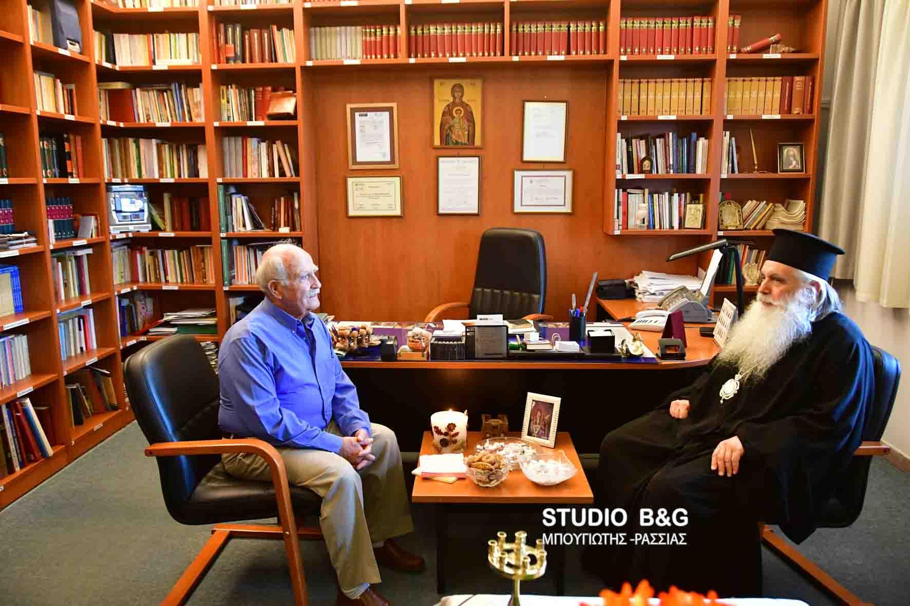 Αγιασμός στο Ραδιοφωνικό Σταθμό της Ι. Μ. Αργολίδος (ΦΩΤΟ) - Ο Άρχων