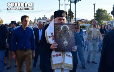 Υποδοχή της Παναγίας της Σινασίτισσας στη Νέα Κίο (ΦΩΤΟ – ΒΙΝΤΕΟ)
