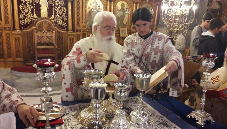 Η Θεία Λειτουργία του Αγίου Ιακώβου από τον Μητροπολίτη Δημητριάδος (ΦΩΤΟ)