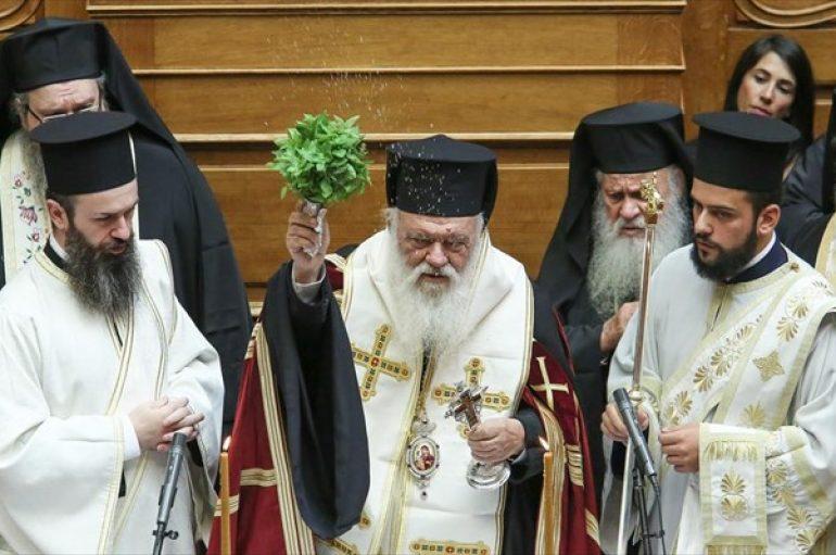 """Αρχιεπίσκοπος: """"Η σχέση Εκκλησίας-πολιτείας δεν πρέπει να βασίζεται σε ιδεοληψίες"""""""