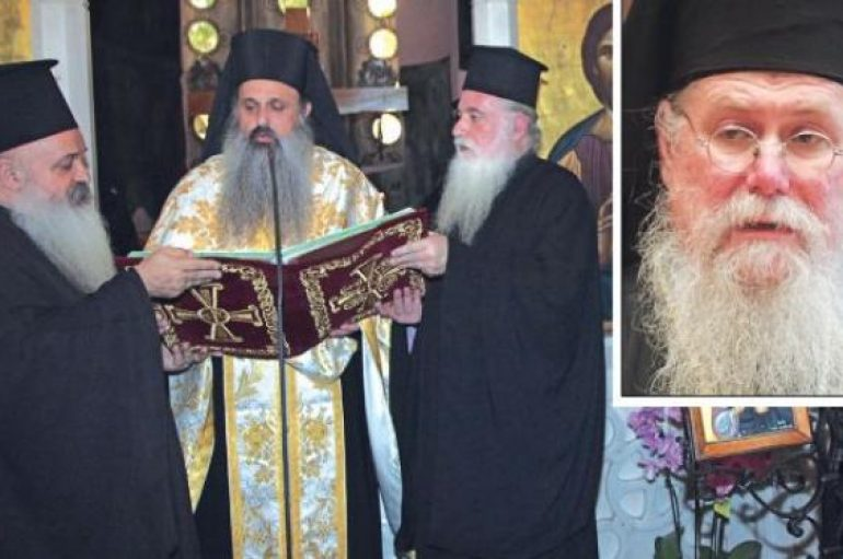 Ντρίμπλα Μητροπολίτη Άνθιμου σε Αρχιεπίσκοπο Ιερώνυμο