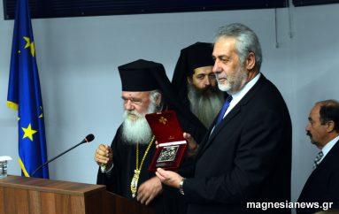 Επίτιμος δημότης Αλμυρού ο Αρχιεπίσκοπος Ιερώνυμος (ΦΩΤΟ – ΒΙΝΤΕΟ)