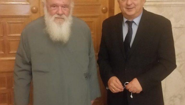 Στον Αρχιεπίσκοπο ο Υφυπουργός Εξωτερικών Γ. Αμανατίδης