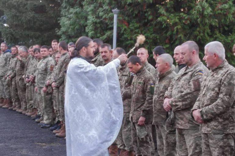 Κληρικοί τέλεσαν Αγιασμό σε στρατόπεδα της Υπερκαυκασίας (ΦΩΤΟ)