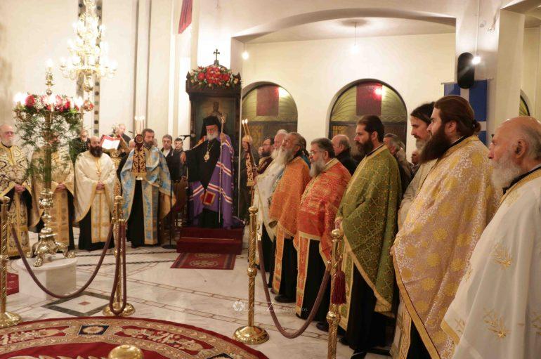 Εσπερινός της Αγίας Αικατερίνης στην Ι. Μ. Μαντινείας (ΦΩΤΟ)