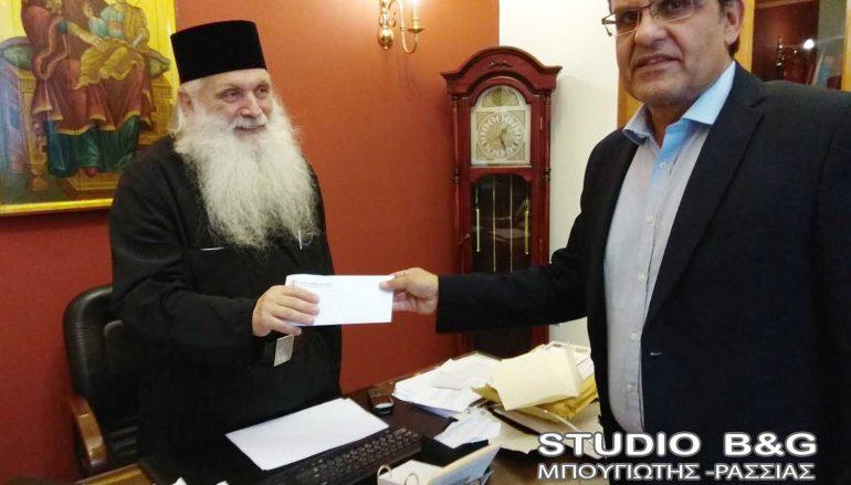Το Επιμελητήριο Αργολίδας ενισχύει οικονομικά την Ι. Μ. Αργολίδος