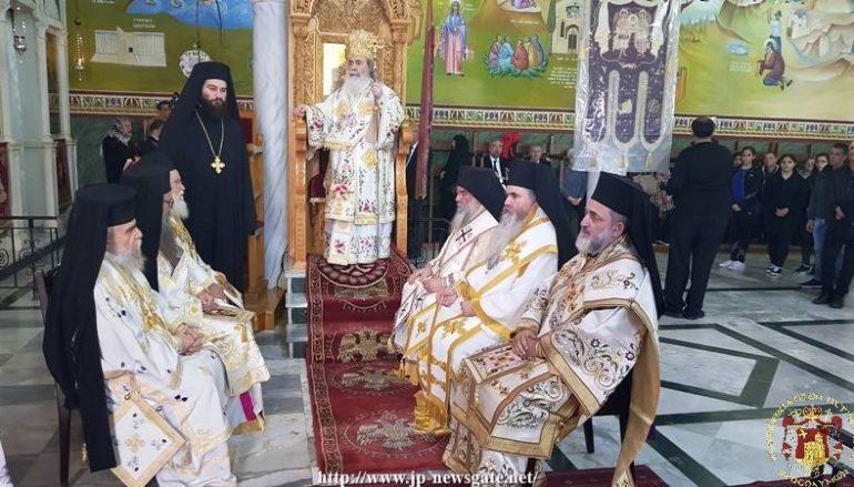 Η εορτή της Συνάξεως των Αρχαγγέλων στο Πατριαρχείο Ιεροσολύμων (ΦΩΤΟ)