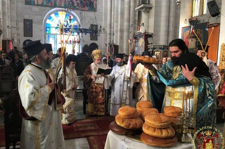 Το Πατριαρχείο Ιεροσολύμων εόρτασε τον Αγ. Φιλούμενο τον Αγιοταφίτη (ΦΩΤΟ)