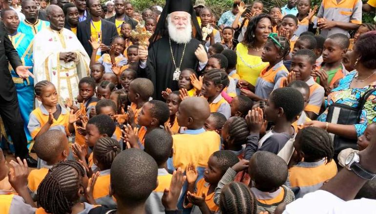 Ελπιδοφόρο το μέλλον της Ορθοδοξίας στο Καμερούν (ΦΩΤΟ)