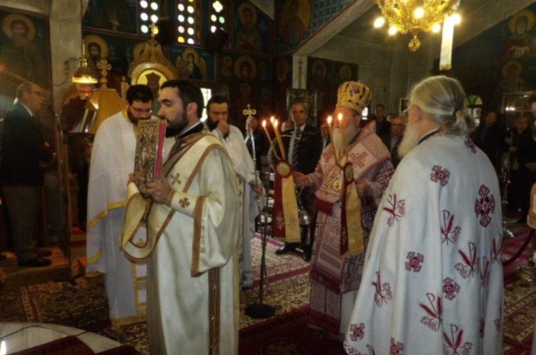 Η εορτή του Αγίου Μηνά στην Ι. Μητρόπολη Κορίνθου (ΦΩΤΟ)