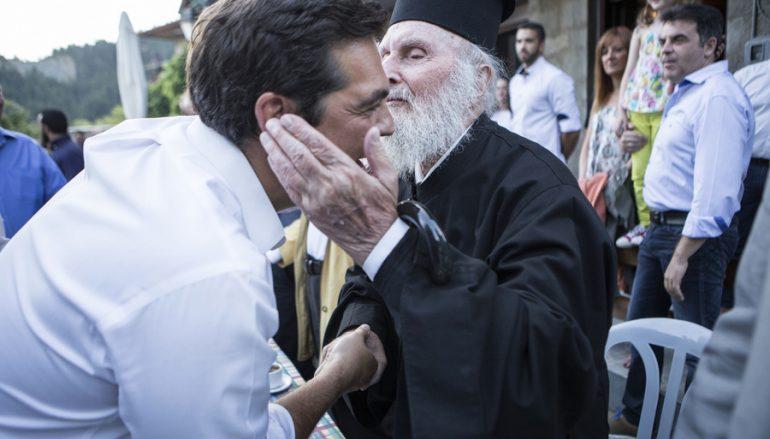 Εκοιμήθη ο αιωνόβιος ιερέας – θείος του Πρωθυπουργού