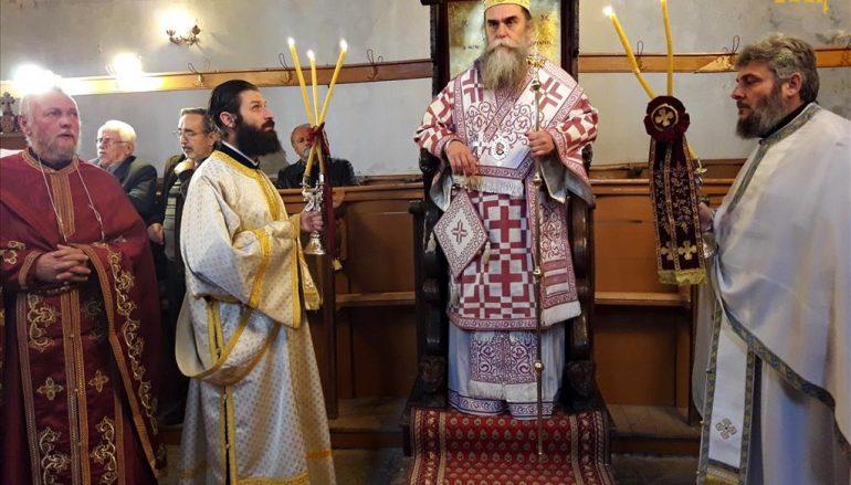 Ο Μητροπολίτης Άρτης στον Ι. Ναό Γενεσίου της Θεοτόκου Ραφταναίων (ΦΩΤΟ)