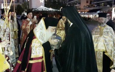 Ο Βόλος υποδέχθηκε την Τιμία Κάρα του Αγίου Νικολάου του Πλανά (ΦΩΤΟ)