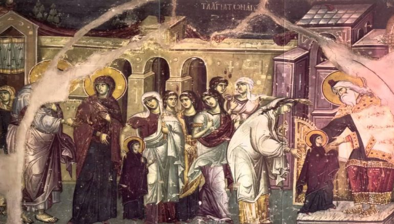 «Προπέμποντας την Μαρία – Προπέμποντας τον Ιησού Χριστό στον παρόντα αιώνα»