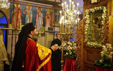 Ενθρόνιση τηη Παναγίας Πορταϊτίσσης στον Ι. Ν. Αγ. Κωνσταντίνου και Ελένης Ασσήρου