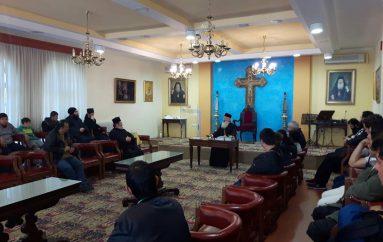 Μαθητές του Εκκλ. Γυμνασίου – Λυκείου Ξάνθης στην Ι. Μ. Αλεξανδρουπόλεως